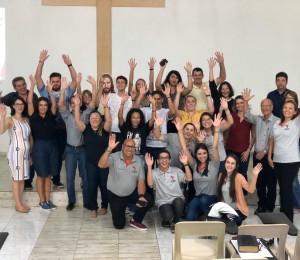 """""""Temos um grande desafio, mas seremos o fermento na massa"""", disse dom Gentil Delazari no I Encontro Diocesano da Pascom"""