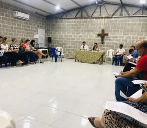 Conselho Pastoral Paroquial  se reúne para mais uma reunião ordinária
