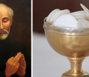 Santos que tiveram de viver sem a Eucaristia