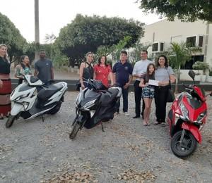 Sorriso: Paróquia entrega motos da Promoção Ligados na São Pedro