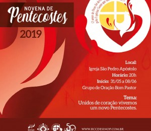 RCC prepara novena de Pentecostes