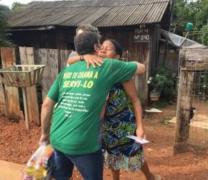 Grupo de Oração Bom Pastor realiza ação social no bairro União