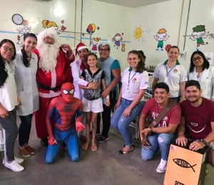 Pastoral da Saúde promove Natal no Hospital Regional de Sorriso
