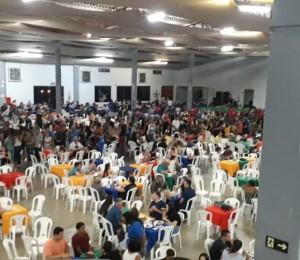 950 pessoas participam da Macarronada do Segue-me