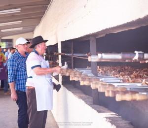 Tradicional churrasco de São Pedro será domingo (20); espeto será retirado no local