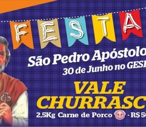 FESTA DE SÃO PEDRO APÓSTOLO ACONTECERÁ NESTE DOMINGO