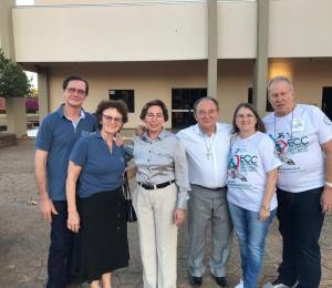 ECC da Paróquia São Pedro participa de encontro regional em São José do Rio Claro