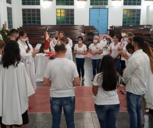 CONSAGRAÇÃO DE NOVOS MEMBROS DO APOSTOLADO DA ORAÇÃO