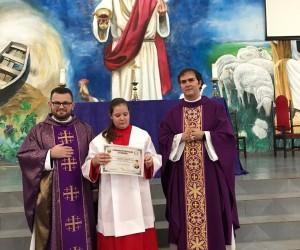 INVESTIDURA DE NOVOS COROINHAS MAIORES