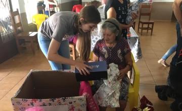 SEGUE-ME visita Lar de Idosos em Vera/MT e entregam presentes aos moradores